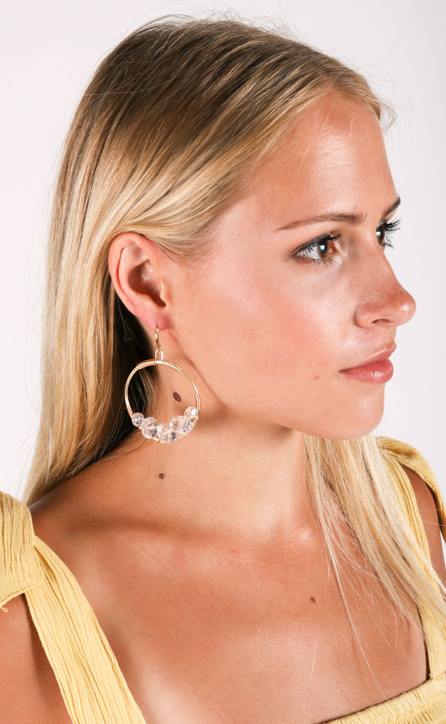 rory ashton: medium cluster earring - angelfish