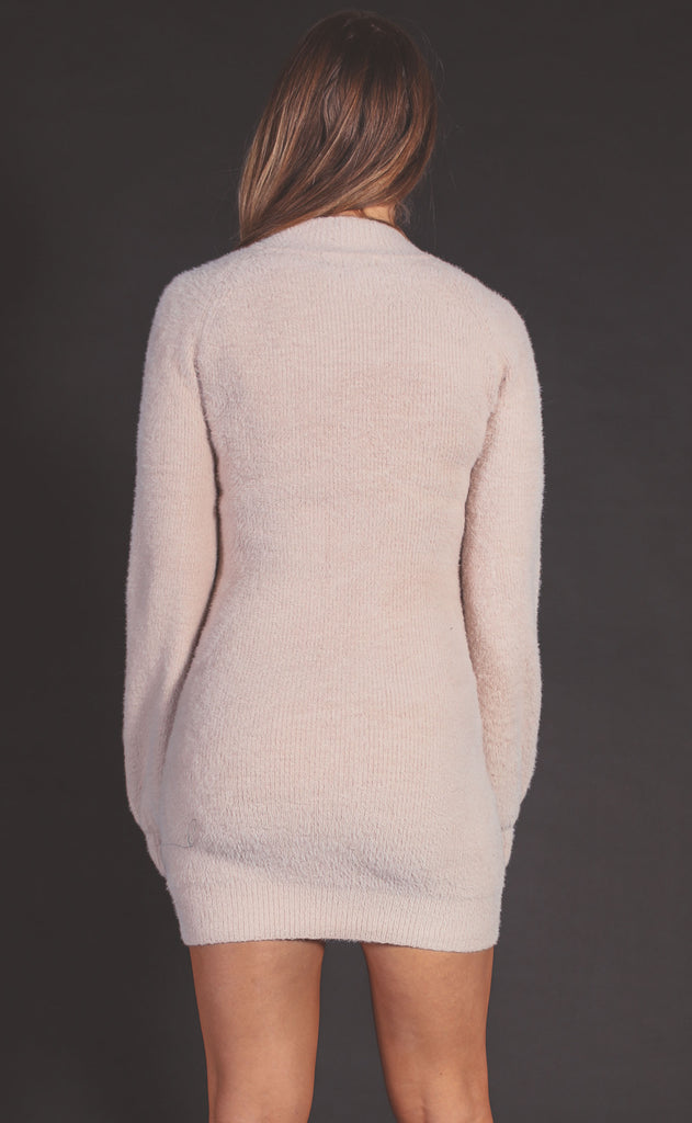 make me blush sweater dress