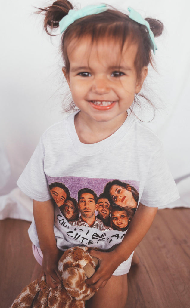 friday + saturday: could i be any cuter kids tee