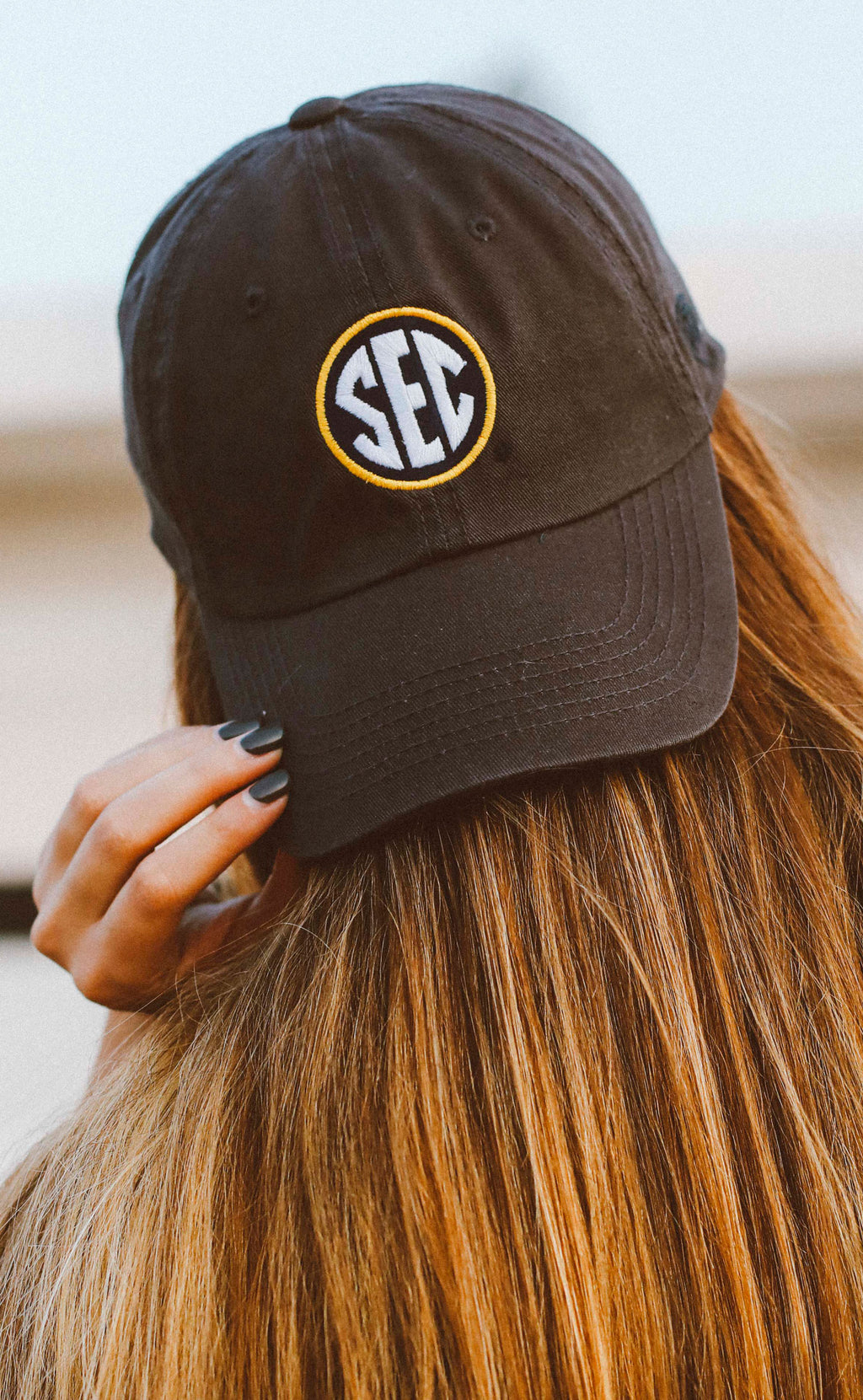 charlie southern: SEC hat - charcoal