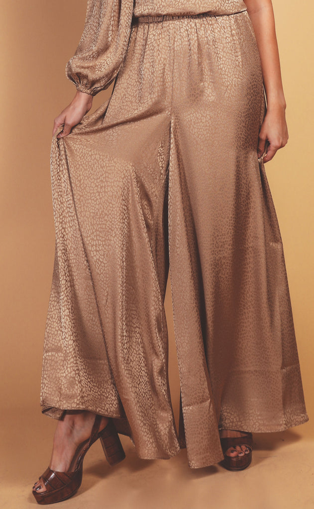 show me your mumu: hutton pants - bronze cheetah