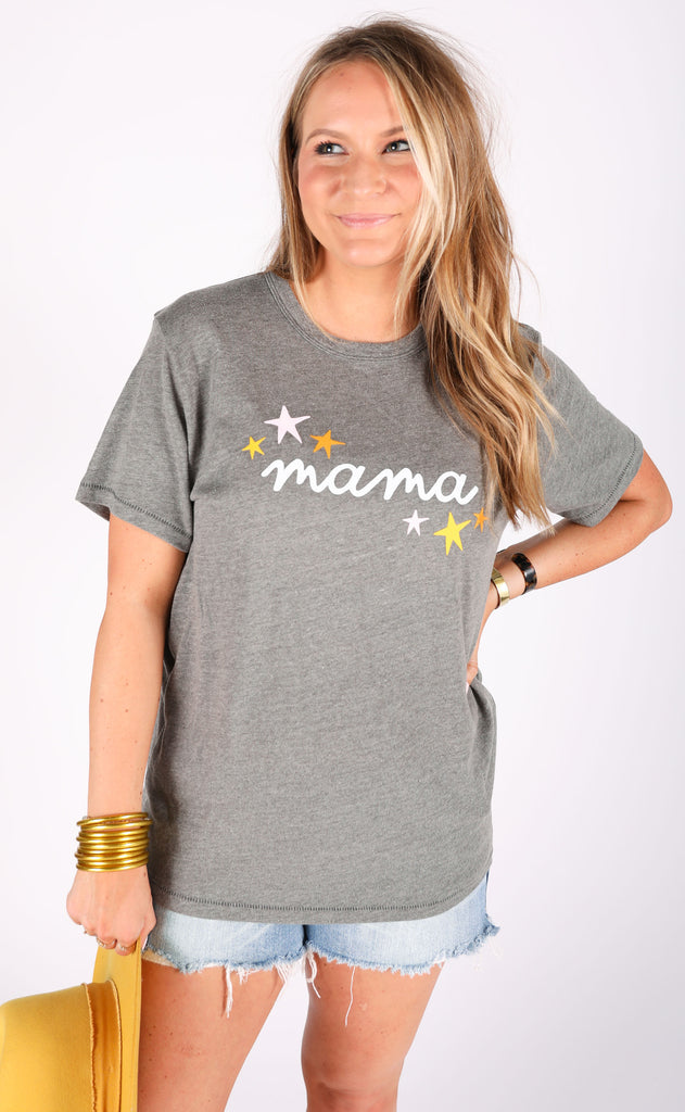 friday + saturday: mama star t shirt