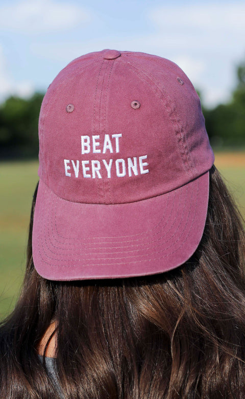 charlie southern: beat everyone hat - maroon