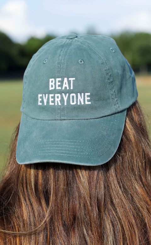charlie southern: beat everyone hat - green