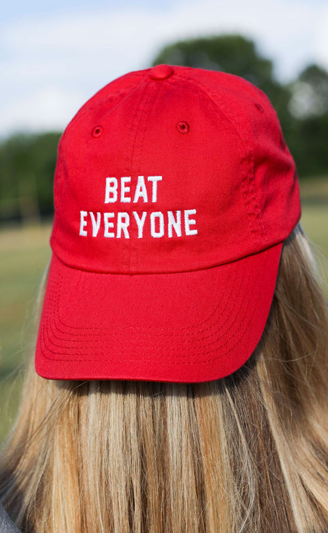 charlie southern: beat everyone hat - red