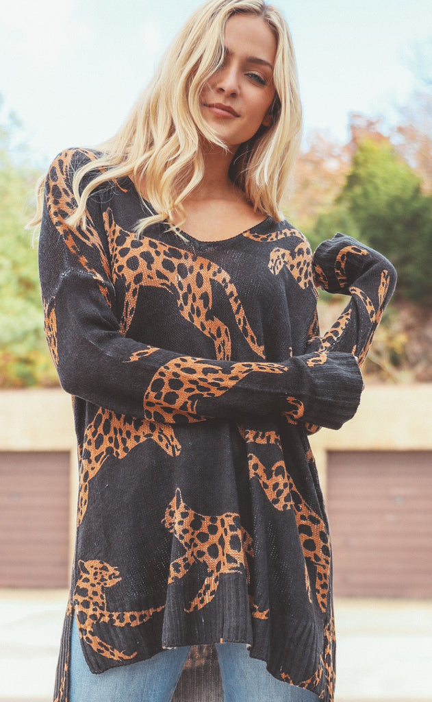 show me your mumu: hug me sweater - mucci cat knit
