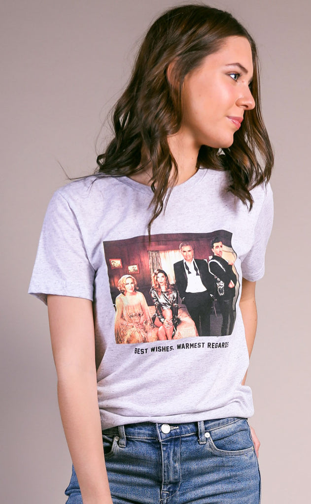 friday + saturday: schitt's creek t shirt