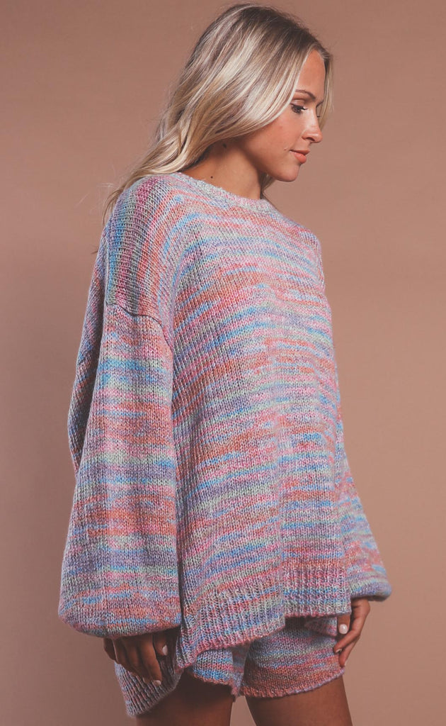 show me your mumu: pismo sweater - spacedye knit
