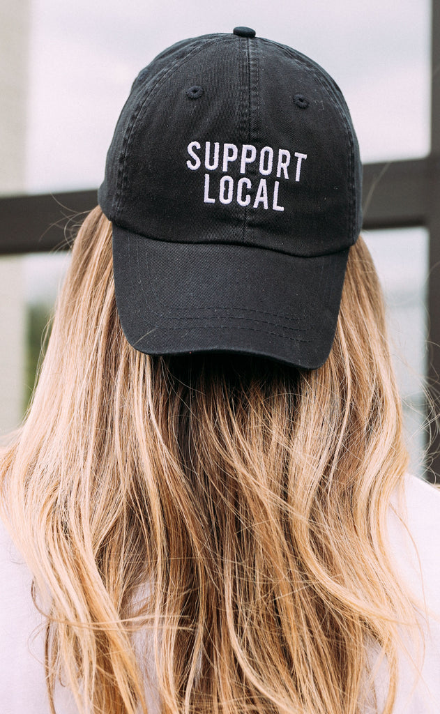 charlie southern: support local hat