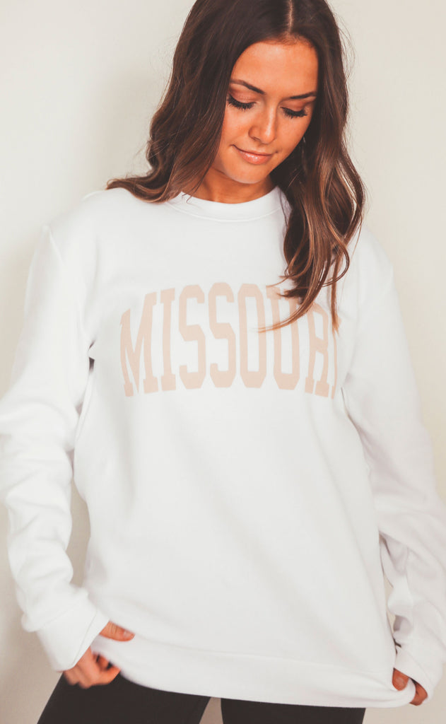 charlie southern: neutral feels state sweatshirt - missouri