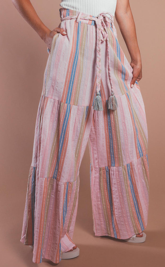 show me your mumu: serafina pants - paradise stripe