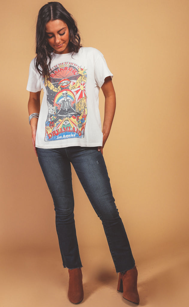 daydreamer: tour tee - rainbow dreamland