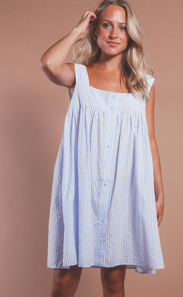 let's get nautical striped dress