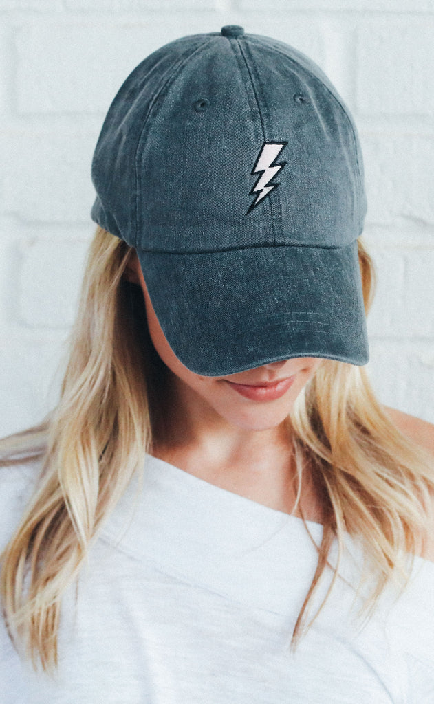 friday + saturday: lightning bolt hat