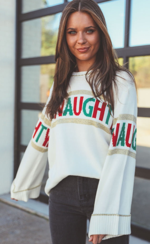 show me your mumu: andes sweater - be naughty knit