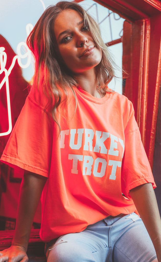 friday + saturday: turkey trot t shirt