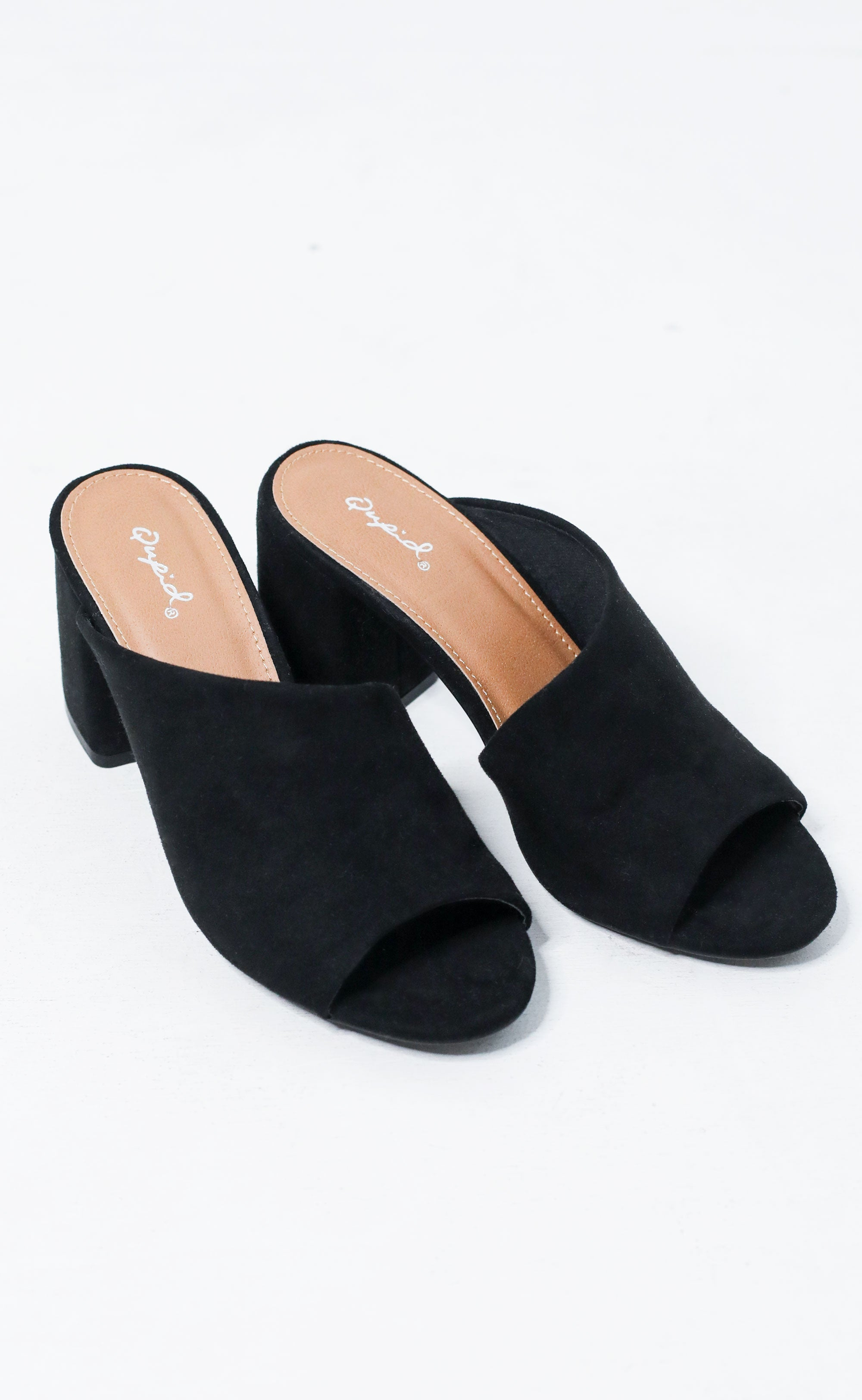 catwalk mule - black