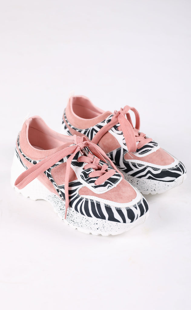 mix it up sneaker - pink