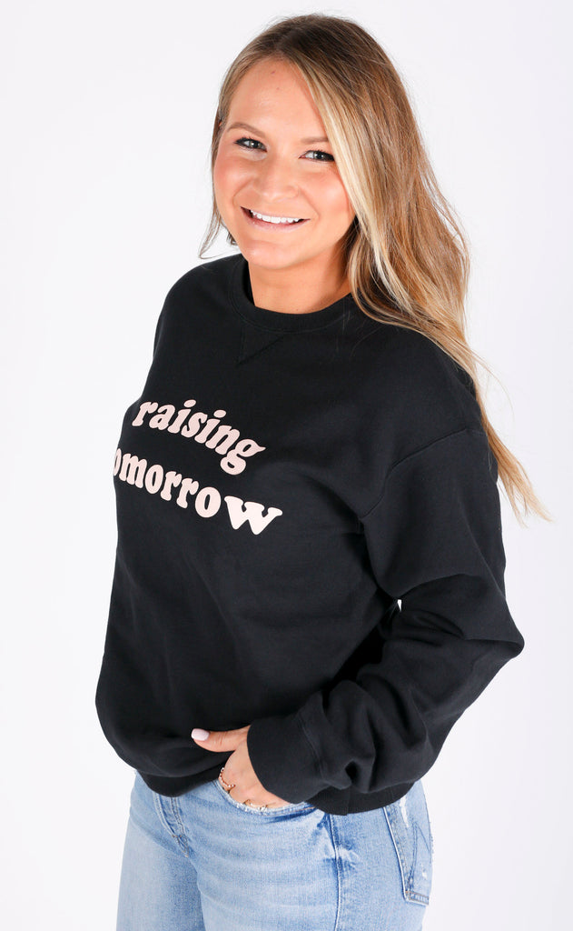 charlie southern: raising tomorrow sweatshirt