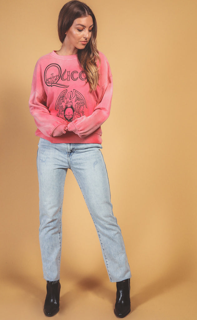 daydreamer: classic queen crest sweatshirt