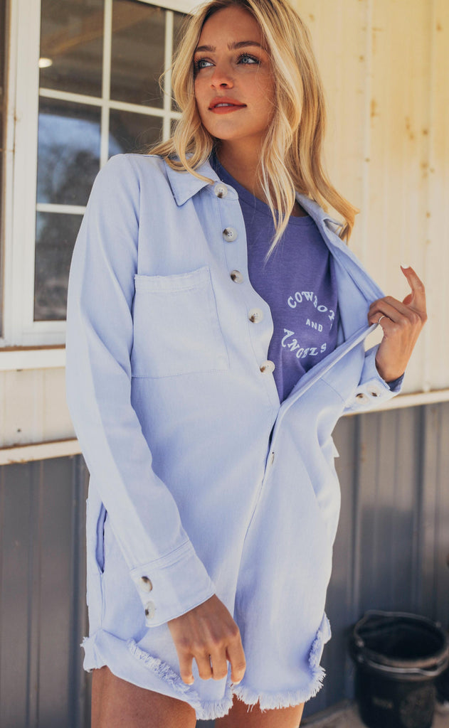 show me your mumu: tegan jumper - periwinkle