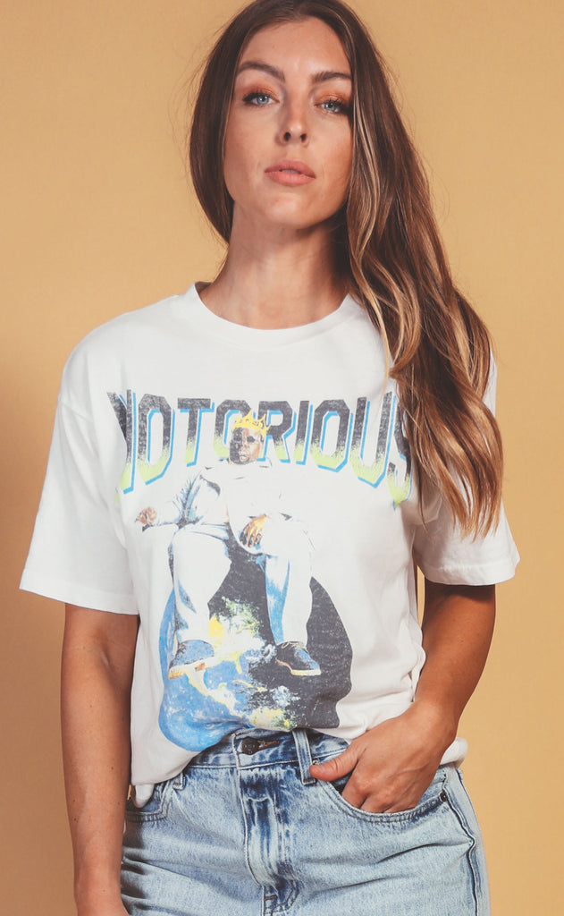 daydreamer: notorious big top of the world weekend tee