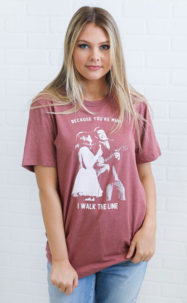 charlie southern: walk the line t shirt