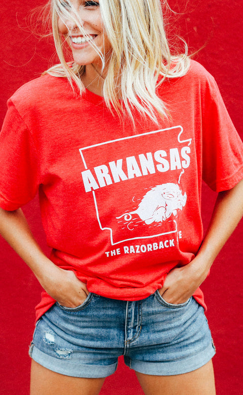 charlie southern: the razorback state t shirt (pre-order)