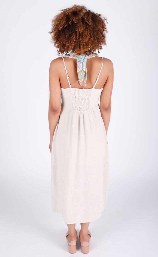 beach please midi dress