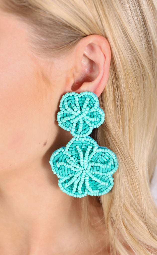 margarita earrings - turquoise