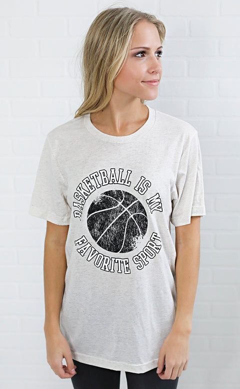 charlie southern: basketball is my favorite sport t shirt