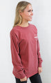 charlie southern: throwback state long sleeve t shirt - arkansas