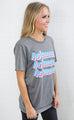 charlie southern: state color pop t shirt - arkansas
