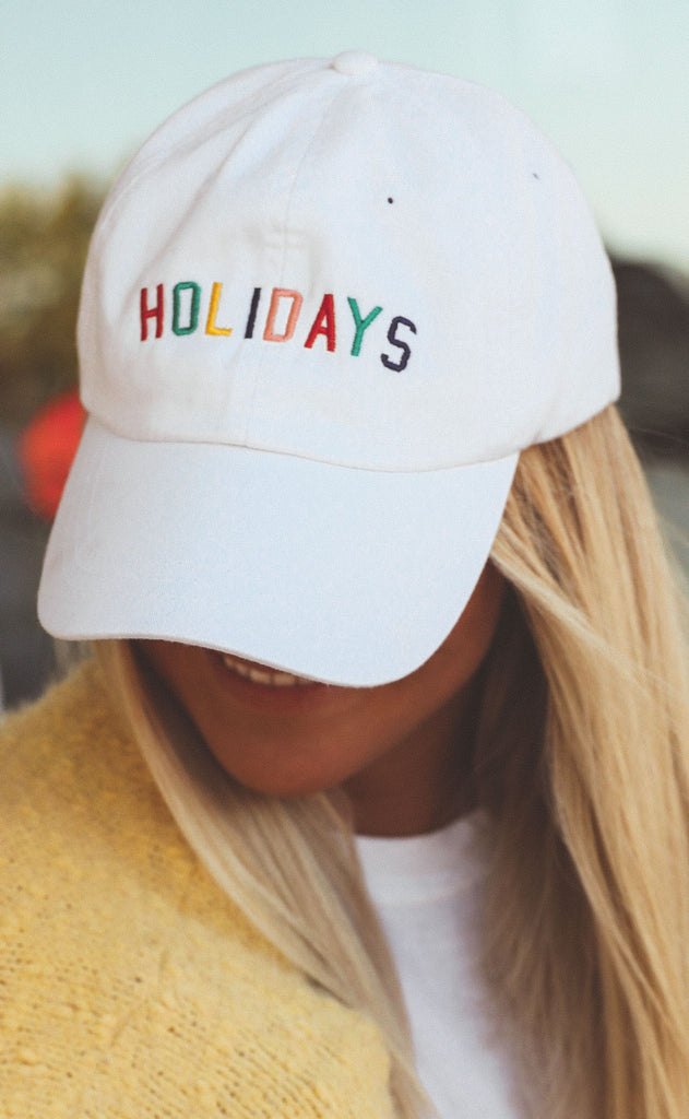 charlie southern: rainbow holidays hat