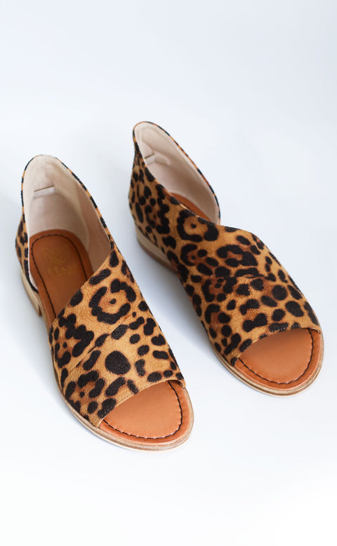 chicago sandal - leopard