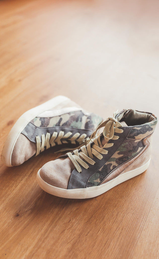 coconuts by matisse: matchmaker sneaker - taupe camo