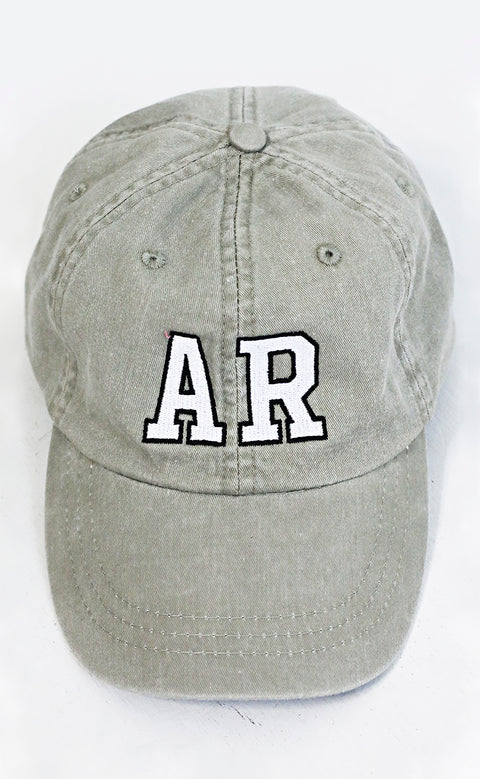 charlie southern: arkansas outline hat - green