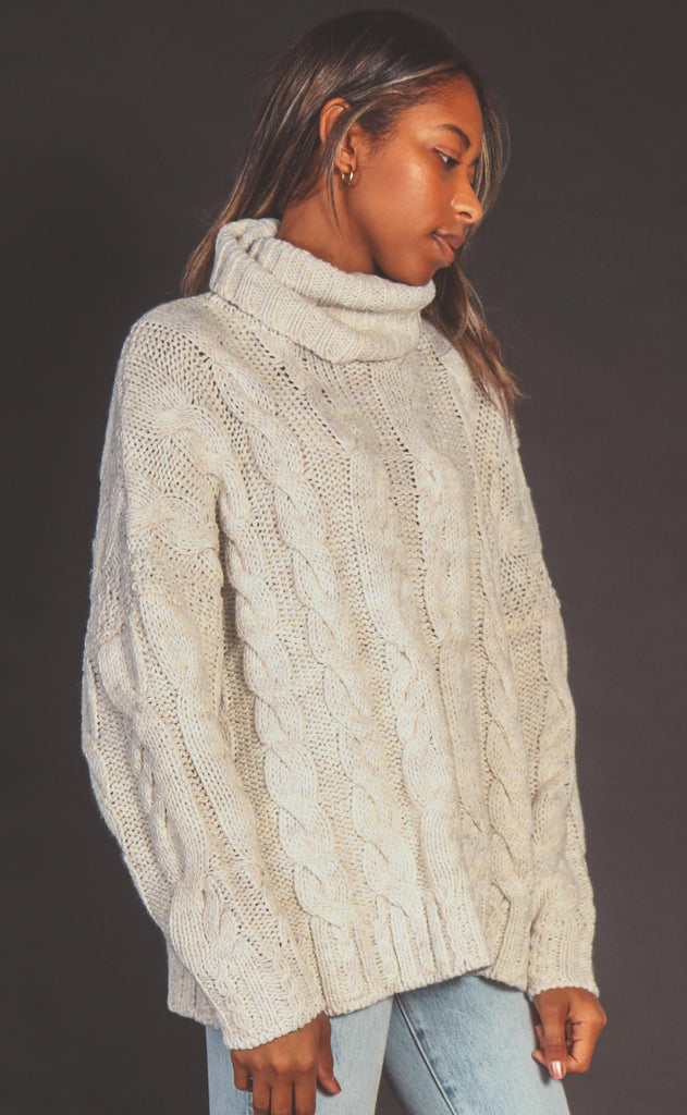 hibernation turtleneck sweater