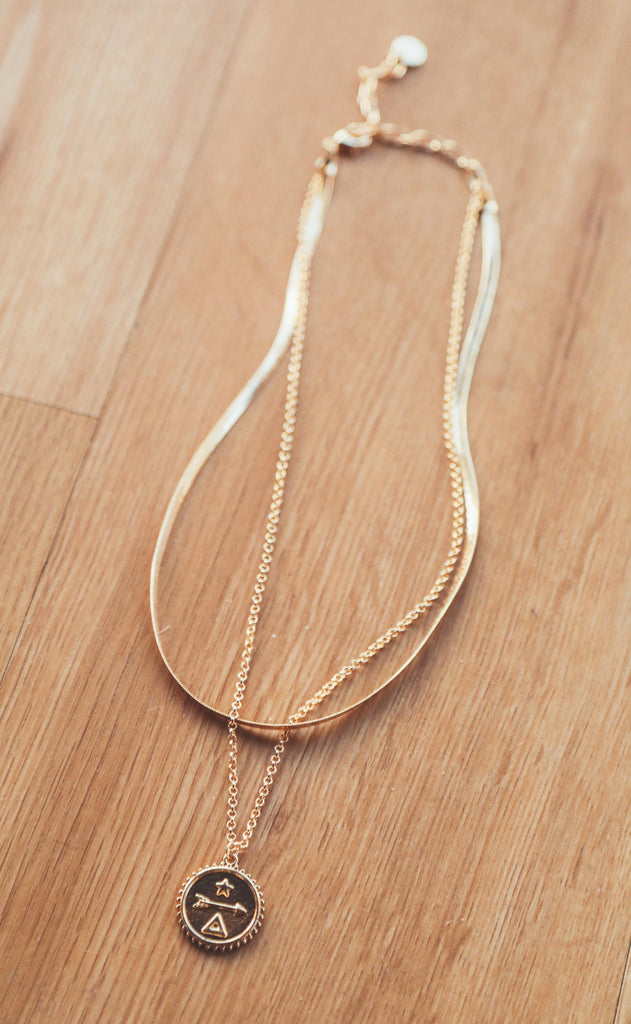 perfect pendant layered necklace