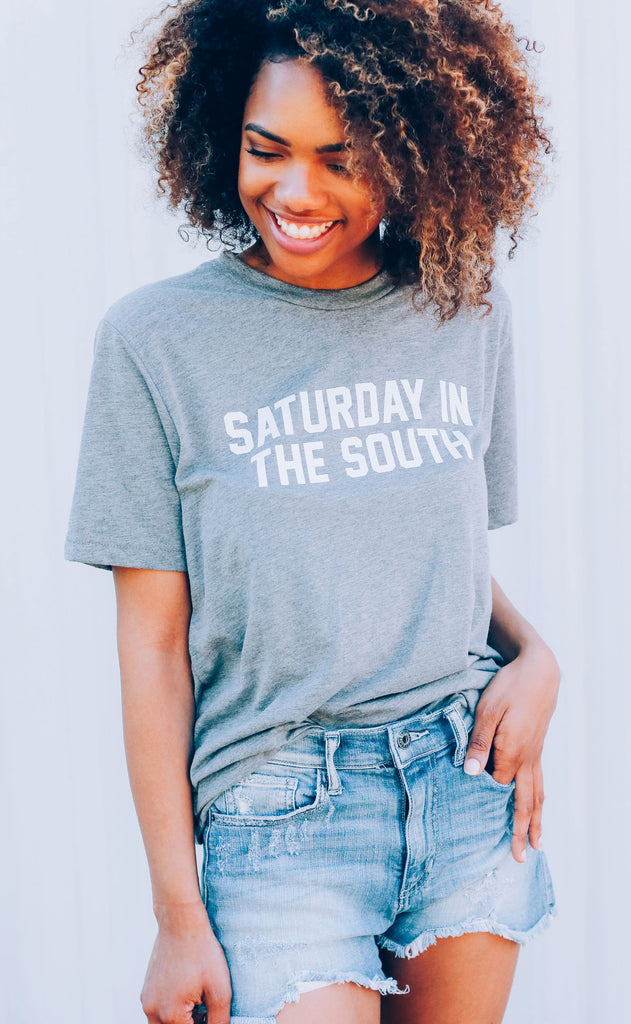 charlie southern: saturday in the south t shirt