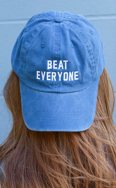 charlie southern: beat everyone hat - blue