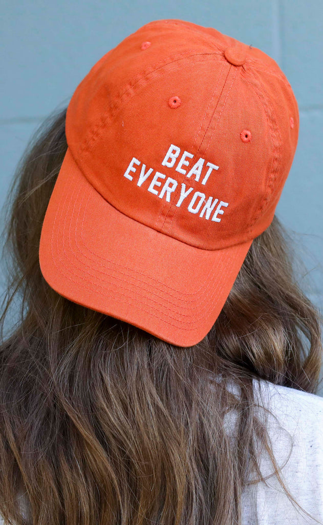 charlie southern: beat everyone hat - burnt orange