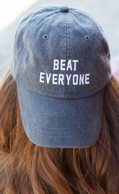 charlie southern: beat everyone hat - black