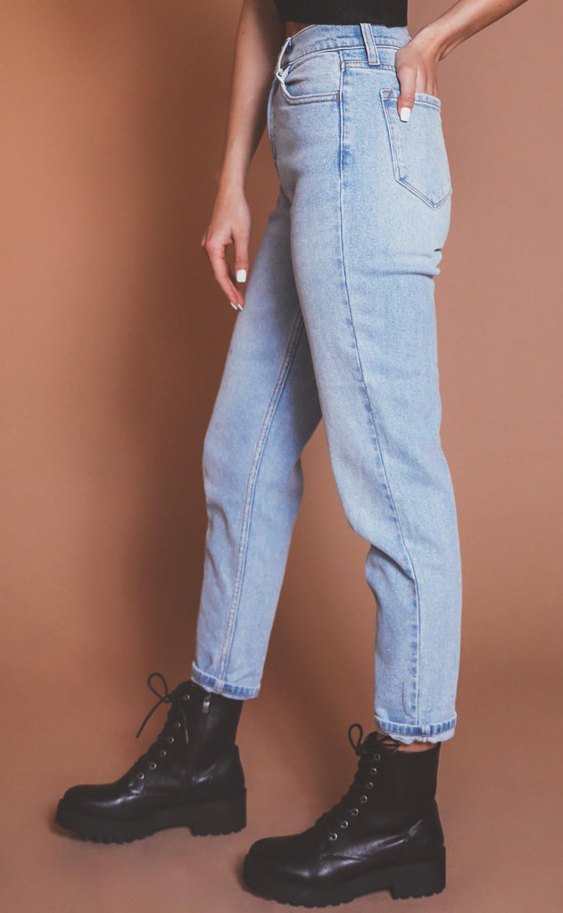 tough luck high rise jeans