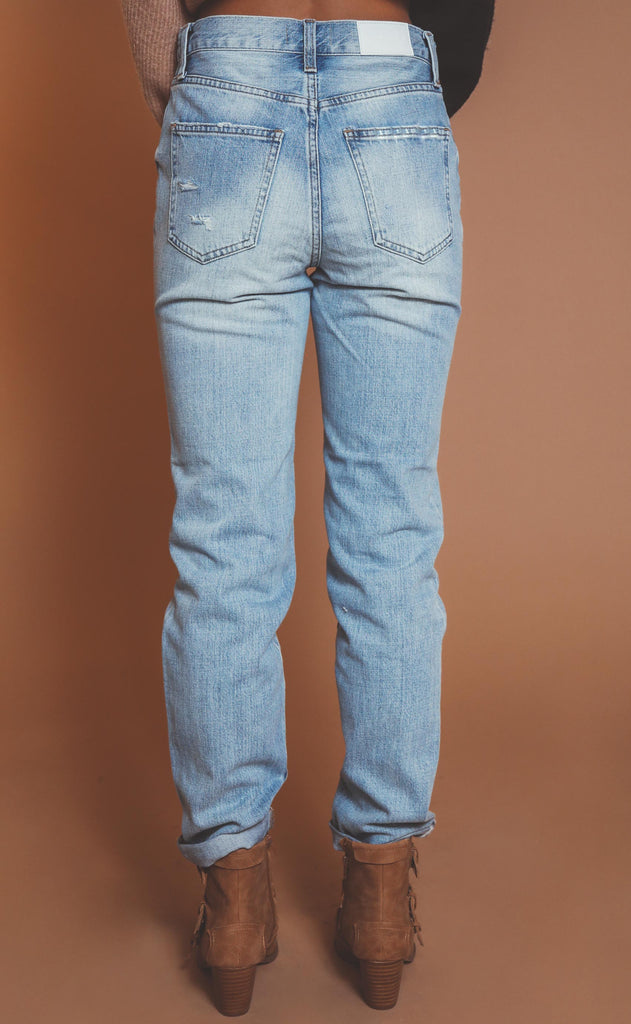pistola: presley high rise vintage jean - virginia beach