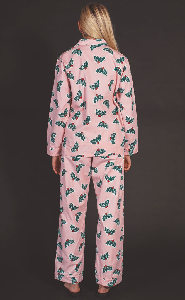 holly long pajama set