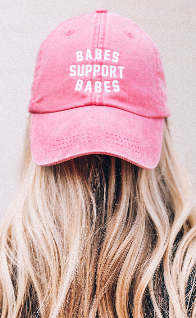 friday + saturday: babes support babes hat