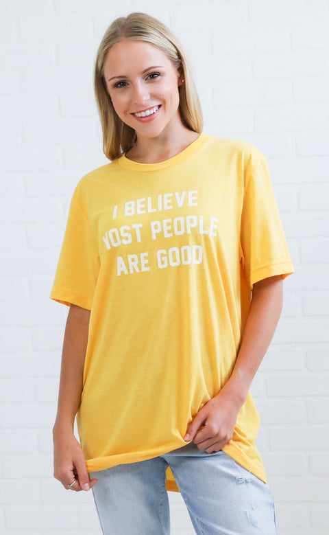 charlie southern: i believe most people are good t shirt