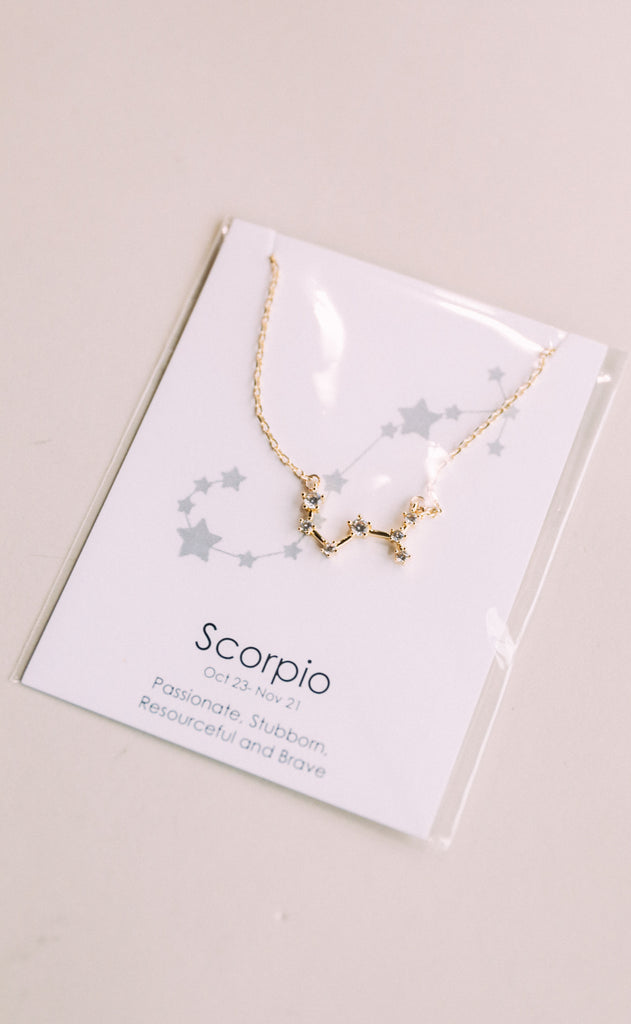 farrah b: star constellation necklace