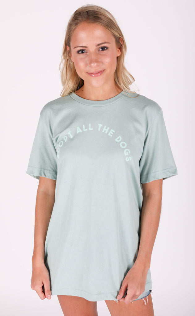 friday + saturday: all the dogs t shirt
